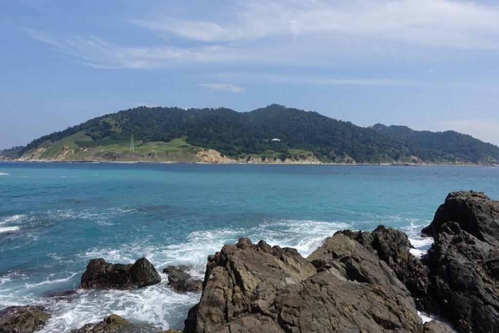 島全体が神社の神域となっている金華山